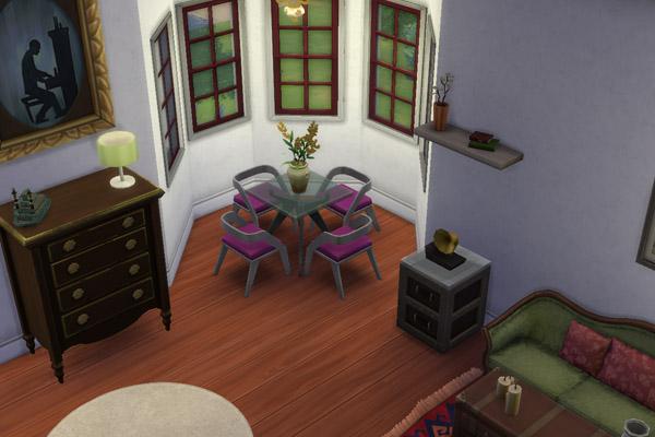 Sims 4 Holzvilla house by Flapp at Blacky's Sims Zoo