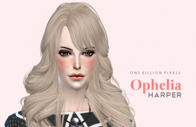 Ophelia Harper by NewOne at One Billion Pixels image 1795 Sims 4 Updates