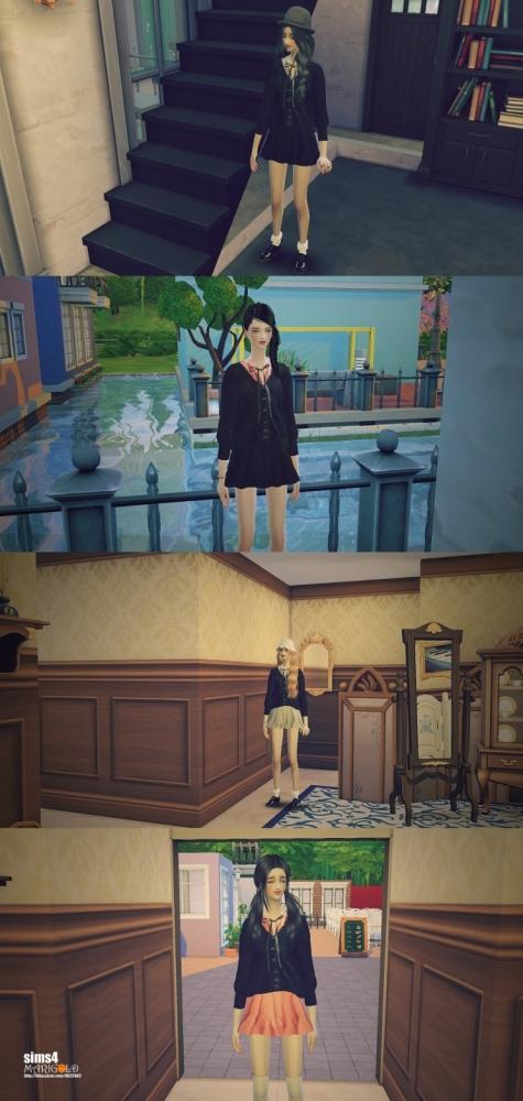 Sims 4 Cardigan onepiece at Marigold