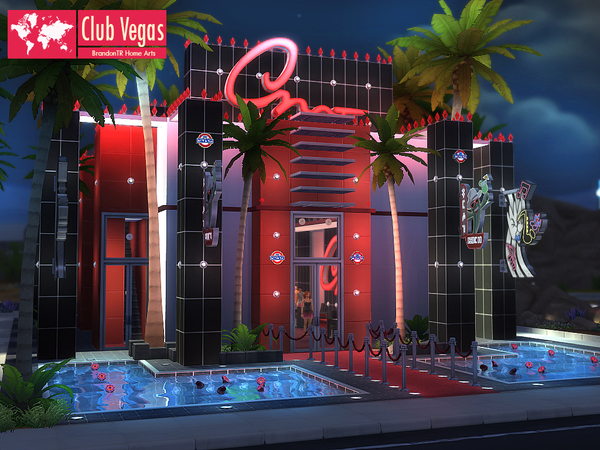 Club Vegas By Brandontr At Tsr 187 Sims 4 Updates