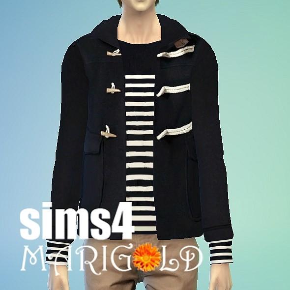 Duffle coat at Marigold image 1858 Sims 4 Updates