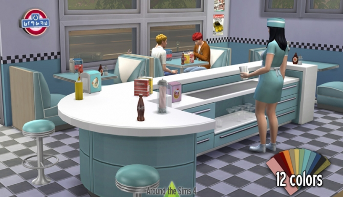 American restaurant at around the sims updates