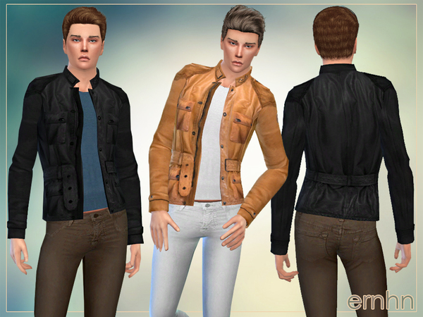 Sims 4 Autumn Look For Him by ernhn at TSR