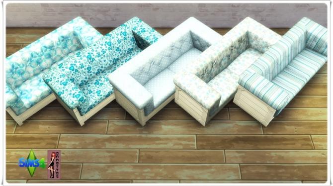 Sims 4 Living Room Set Blue at Annett's Sims 4 Welt