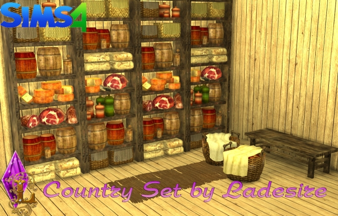 Country Set at Ladesire image 1904 Sims 4 Updates