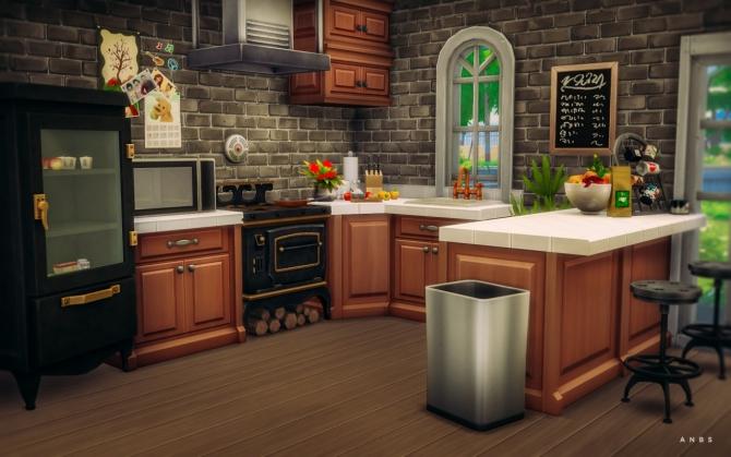 Sims 4 ASPEN COTTAGE at Alachie & Brick Sims