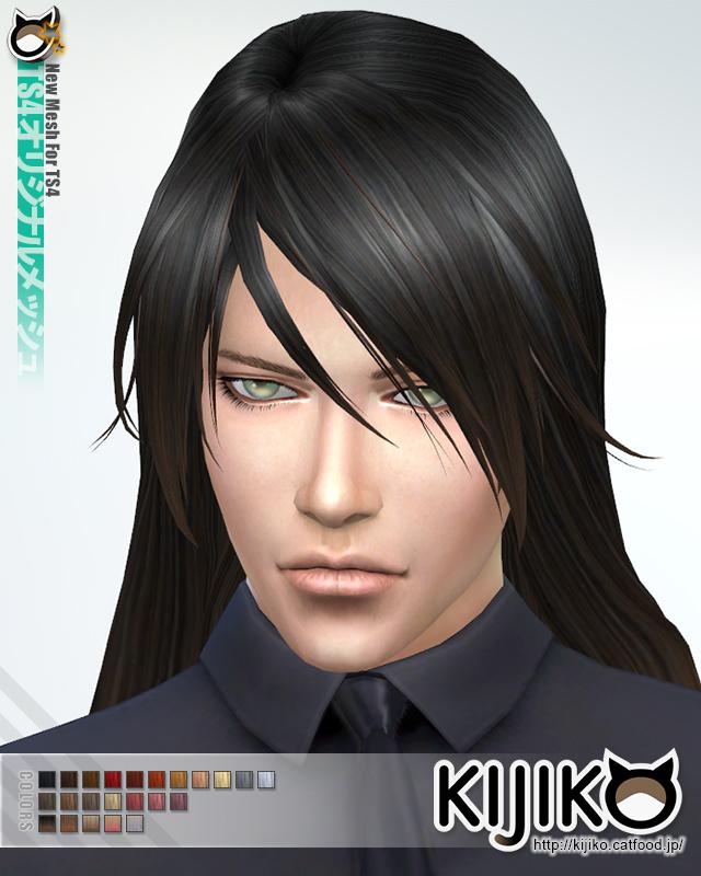 Long Straight hair for males at Kijiko image 1954 Sims 4 Updates