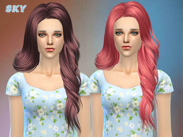 Hair 210 by Skysims at TSR image 1956 Sims 4 Updates