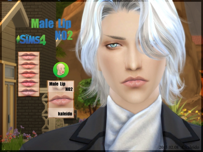 Sims 4 Male lips N2 at KK Sims
