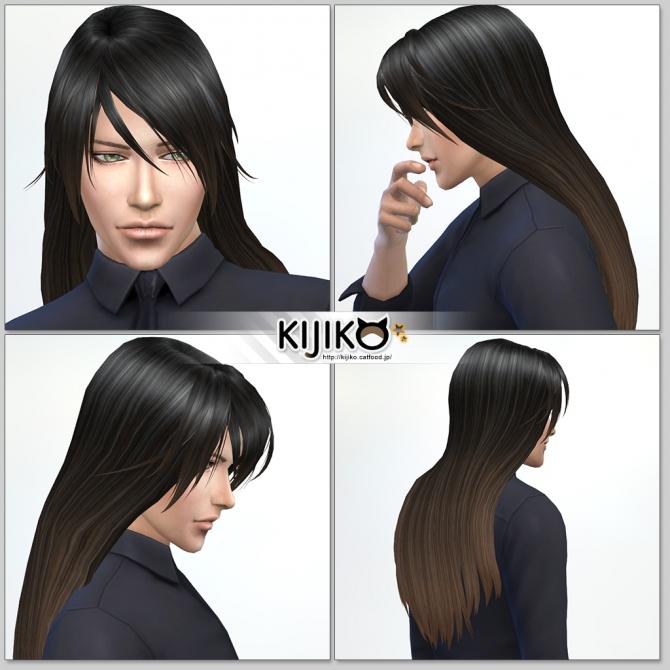 Long Straight hair for males at Kijiko image 1964 Sims 4 Updates