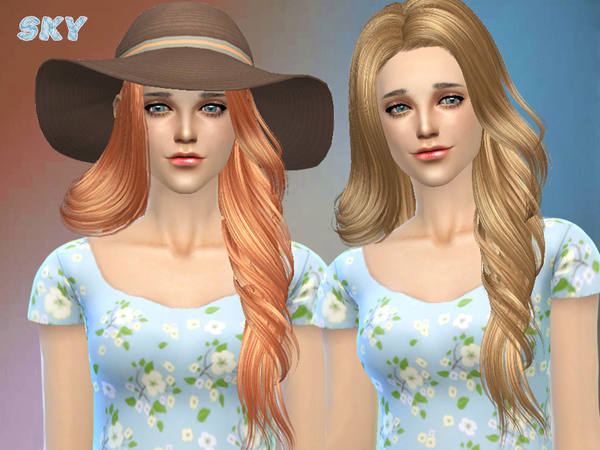 Hair 210 by Skysims at TSR image 1966 Sims 4 Updates