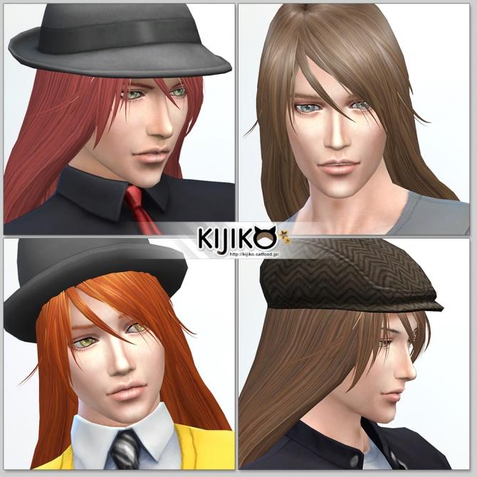 Long Straight hair for males at Kijiko image 1974 Sims 4 Updates