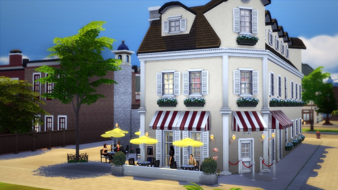 Arts Brasserie at Fezet's Corporation image 1988 Sims 4 Updates
