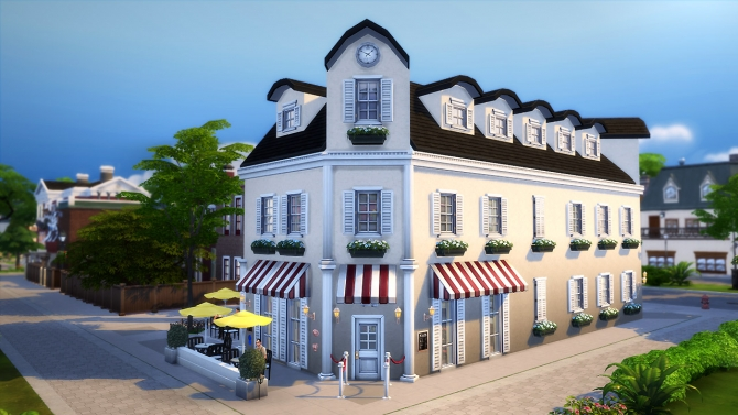 Arts Brasserie at Fezet's Corporation image 1998 Sims 4 Updates