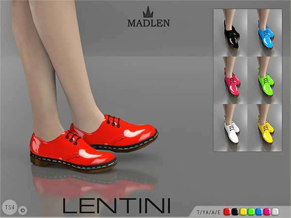Madlen Lentini Shoes by MJ95 at TSR image 20 Sims 4 Updates