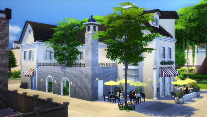 Arts Brasserie at Fezet's Corporation image 2008 Sims 4 Updates