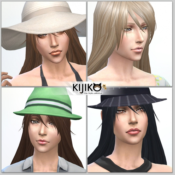 Sims 4 Long Straight hair for females at Kijiko