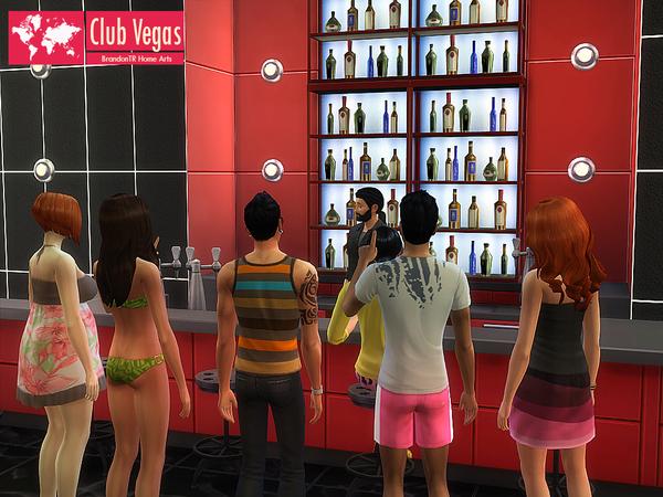 Sims 4 Club Vegas by BrandonTR at TSR