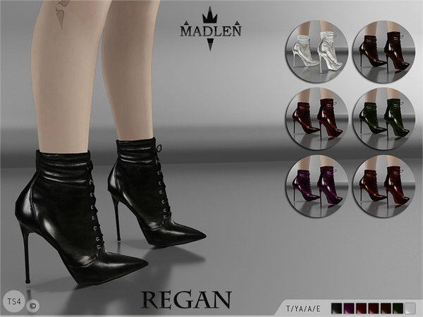Madlen Regan Boots by MJ95 at TSR image 2026 Sims 4 Updates
