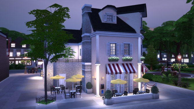 Arts Brasserie at Fezet's Corporation image 20312 Sims 4 Updates