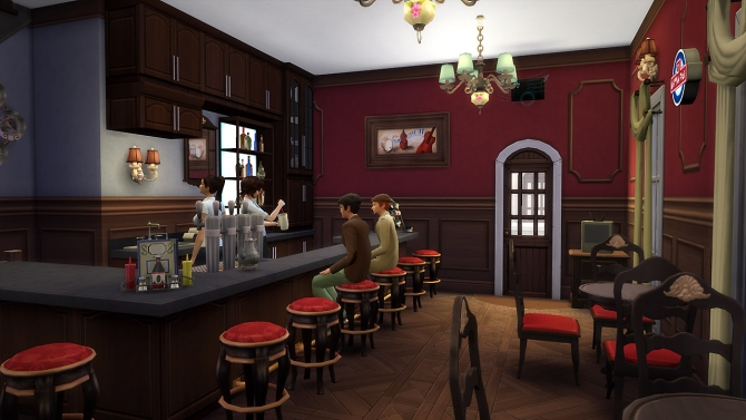 Arts Brasserie at Fezet's Corporation image 20410 Sims 4 Updates