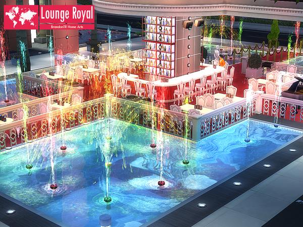 Sims 4 Lounge Royal by BrandonTR at TSR