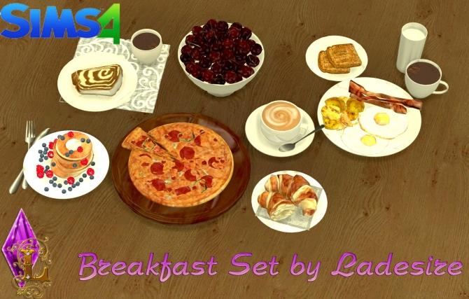 Breakfast Set at Ladesire image 2147 Sims 4 Updates