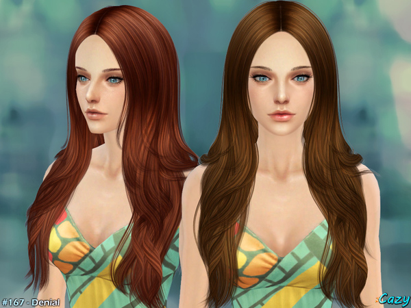 Denial Female Hair by Cazy at TSR image 2151 Sims 4 Updates