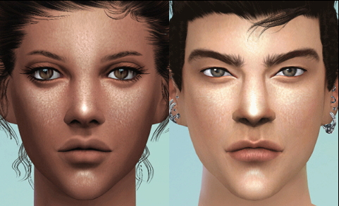 how to change sims face sims 4