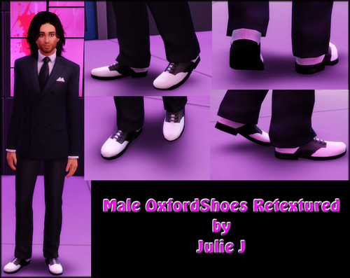 Male Oxford Shoes Retextured at Julie J image 223 Sims 4 Updates