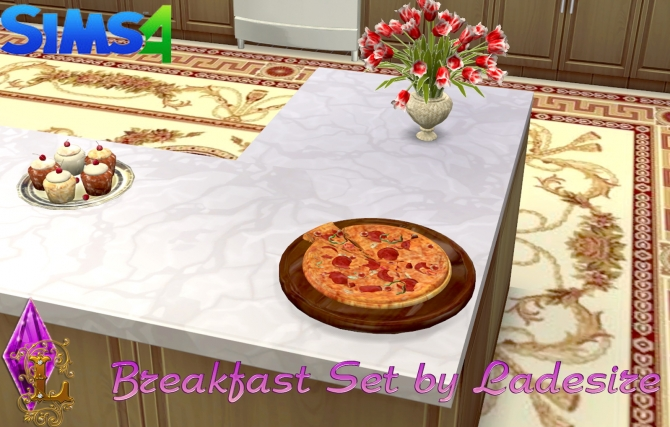 Breakfast Set at Ladesire image 2230 Sims 4 Updates