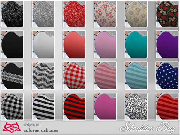 Sims 4 Shoulder Bag 01 by Colores Urbanos at TSR