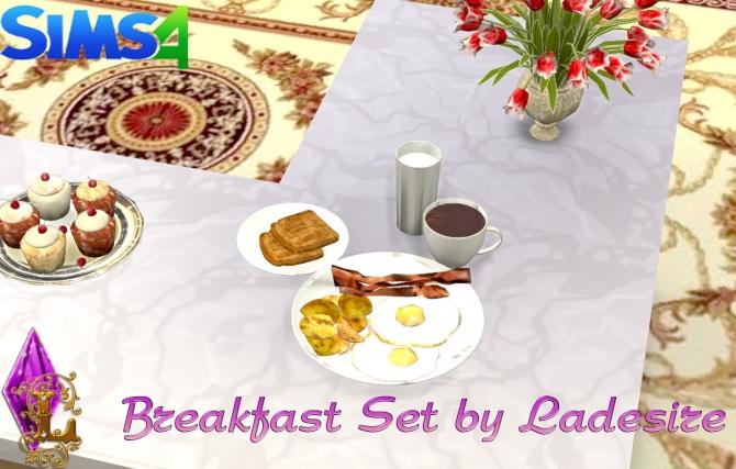 Breakfast Set at Ladesire image 2330 Sims 4 Updates