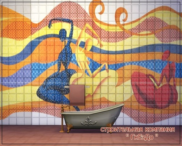 Gracia Base ceramic tiles at Sims by Mulena image 2333 Sims 4 Updates