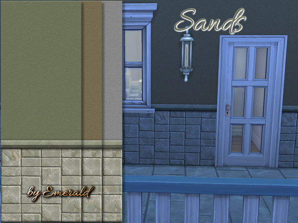 Sands walls by emerald at TSR image 2341 Sims 4 Updates