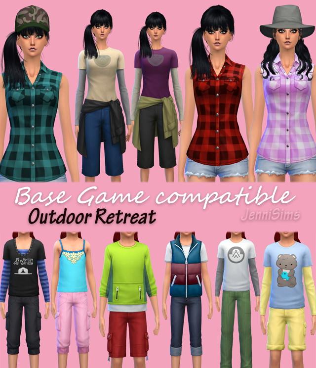 Sims 4 Clothes Child, Hats......Base Game O.R. conversion at Jenni Sims