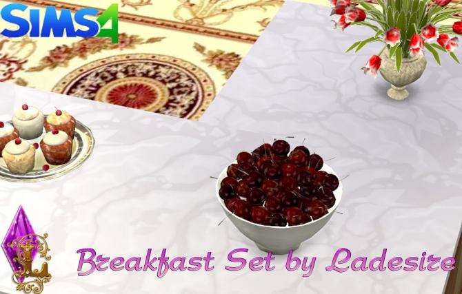 Breakfast Set at Ladesire image 2429 Sims 4 Updates