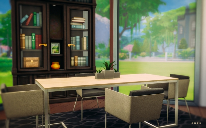 Nissa dining room at alachie brick sims sims 4 updates for Sims 4 dining room ideas