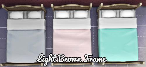 3 Bedding Colors per Frame at Pixel Jewel image 2471 Sims 4 Updates