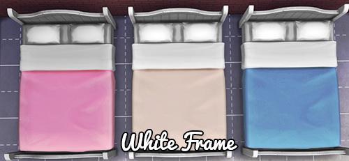 3 Bedding Colors per Frame at Pixel Jewel image 2481 Sims 4 Updates