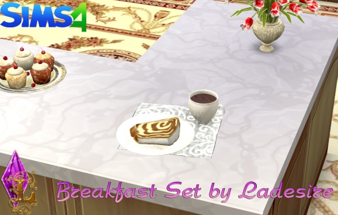 Breakfast Set at Ladesire image 2530 Sims 4 Updates