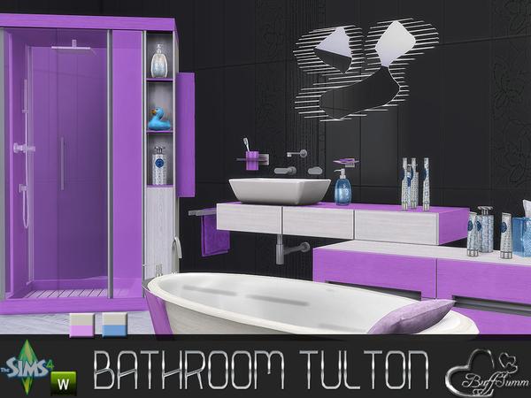 Tulton Bathroom Recolor Set 2 by BuffSumm at TSR image 2534 Sims 4 Updates