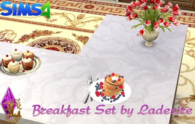 Breakfast Set at Ladesire image 2627 Sims 4 Updates