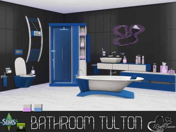 Tulton Bathroom Recolor Set 2 by BuffSumm at TSR image 2630 Sims 4 Updates
