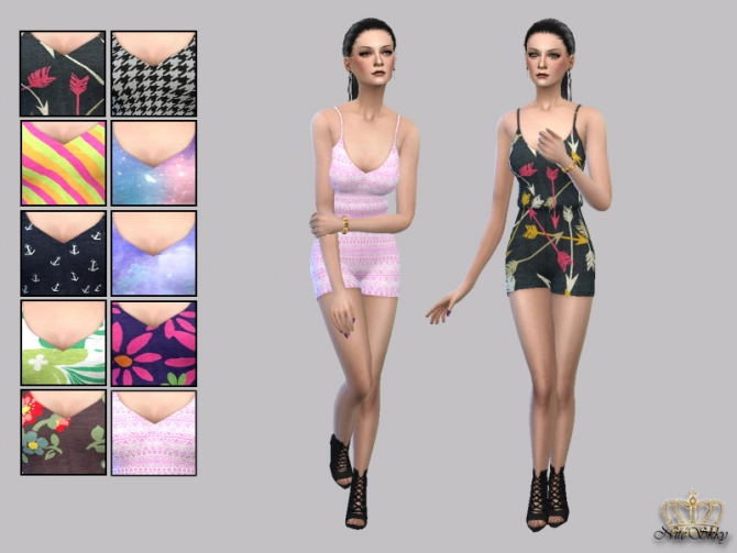 Sweet Serenity Romper Collection at NiteSkky Sims image 2651 Sims 4 Updates