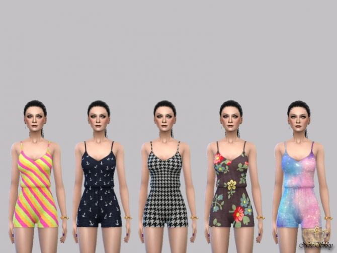Sweet Serenity Romper Collection at NiteSkky Sims image 2661 Sims 4 Updates