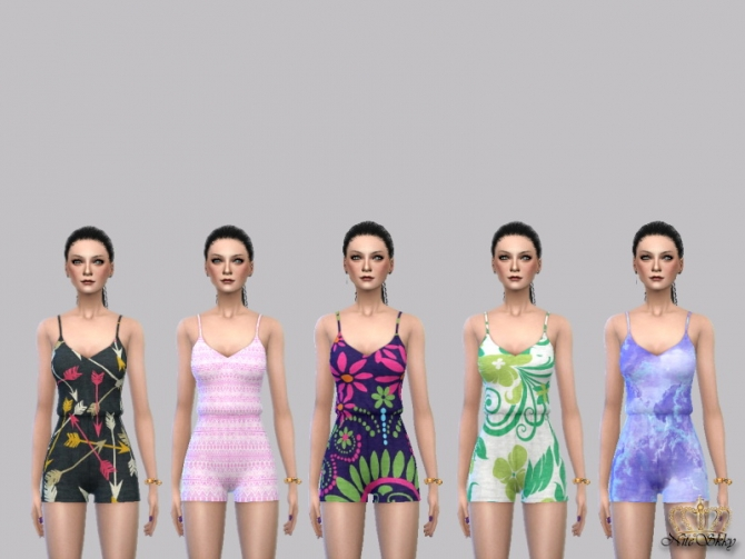 Sweet Serenity Romper Collection at NiteSkky Sims image 2671 Sims 4 Updates
