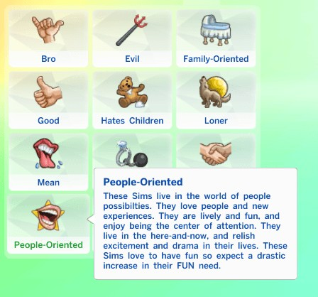 People Oriented Trait! by sarahhamaya at Mod The Sims image 27 1 Sims 4 Updates
