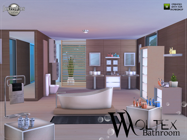 Woltex bathroom by jomsims at TSR image 2714 Sims 4 Updates