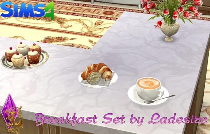Breakfast Set at Ladesire image 2722 Sims 4 Updates